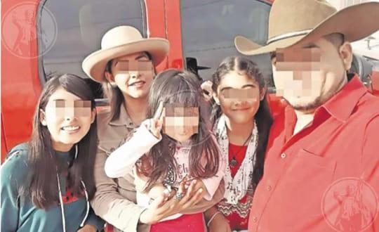 Asesinan a tres niñas y su tío con más de cien disparos en Juárez