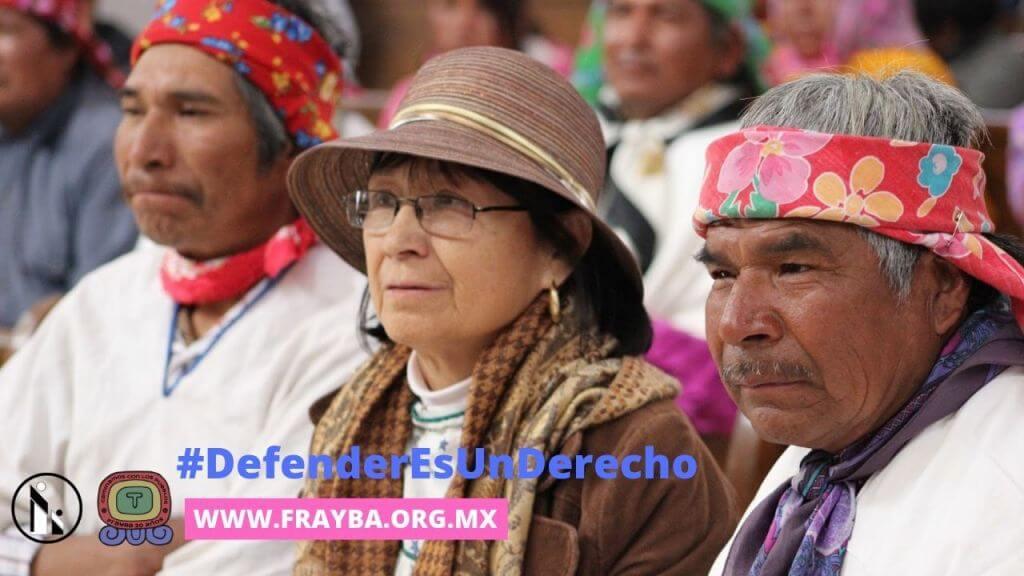 Rechazan campaña de desprestigio en contra de la defensora de los rarámuri de Baqueachi