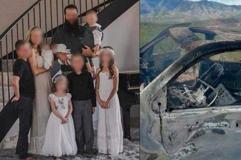 Asesinan a 9 de familia mormona en Chihuahua: 3 mujeres y 6 niños