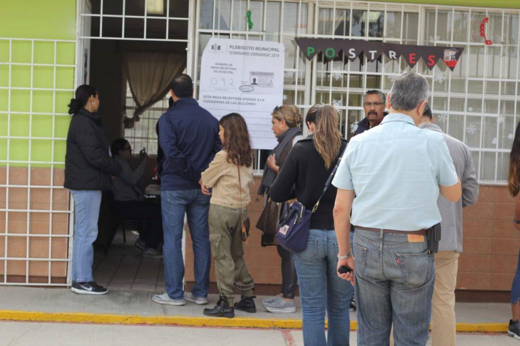 Histórico plebiscito en Chihuahua: tumban ciudadanos proyecto oneroso de alumbrado