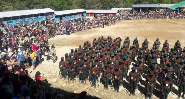 Reúne el EZLN a miles de mujeres para enfrentar la violencia