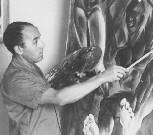 En 2000 murió el pintor Alberto Carlos