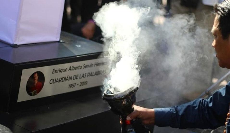 Claman justicia para Enrique Servín, «guardián de las palabras»