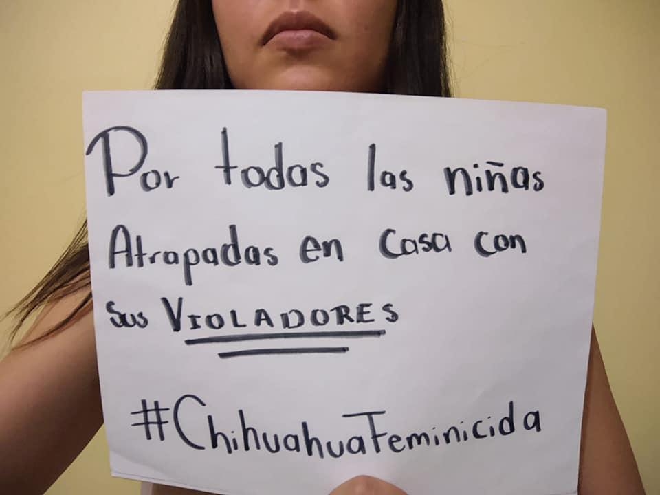 «Las mujeres y niñas de Chihuahua no mueren de coronavirus, las matan en sus casas», denuncian feministas