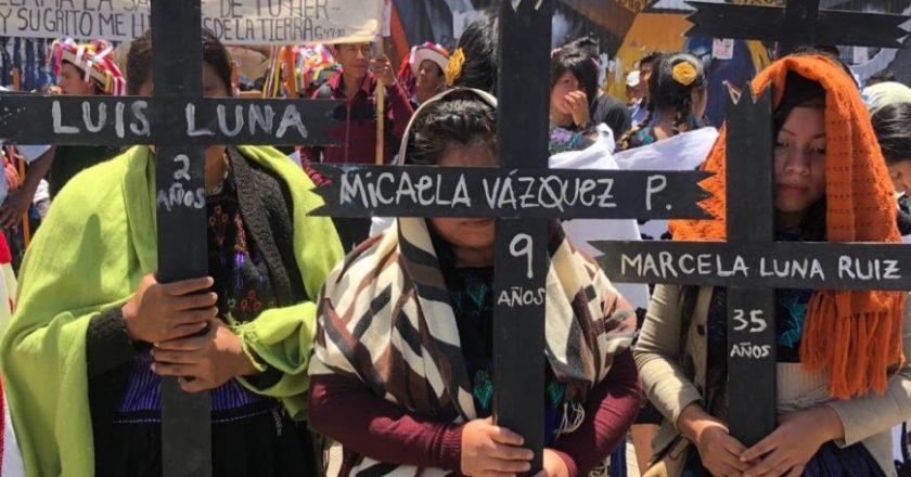 <strong>Sobrevivientes a la masacre de Acteal piden audiencia y justicia a López Obrador</strong>