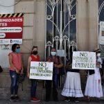 Protestan pacientes de hemodiálisis por rotación de enfermeros en hospital Covid 19