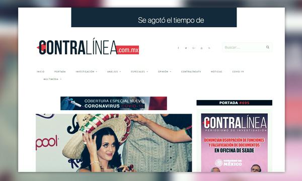 Revista Contralínea sufre ciberataque a su página y a su información en Wikipedia