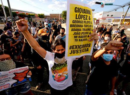 <strong>Caso Giovanni: pese a represión, miles protestan otra vez en Guadalajara</strong>